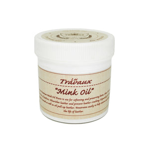 OGL LES TRAVAUX MINK OIL CREAM 150GM