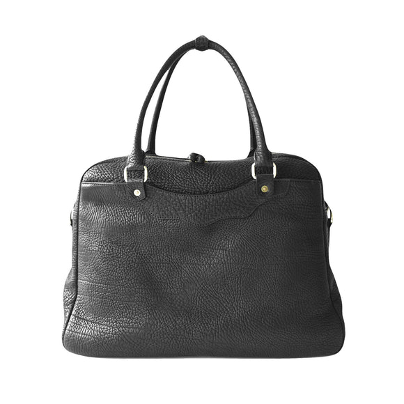 OGL 9981 LEATHER ZOTE BAG BLACK