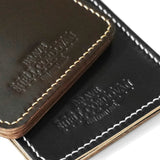 OGL BRAVE SHELL CORDOVAN MONEYCLIP BLACK (HAND-STITCH)