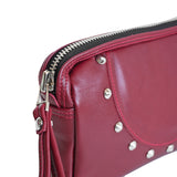 OGL SP CLUTCH LEATHER BAG RED
