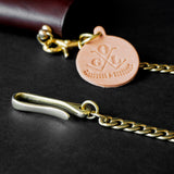 OGL ONLY GOOD LIFE BRASS WALLET CHAIN TYPE 2