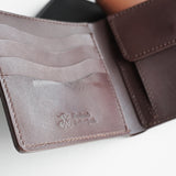 (PROTO) OGL KINGSMAN CLASSIC BI-FOLD LEATHER WALLET COIN POCKET