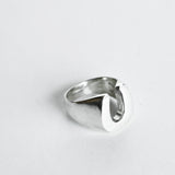 OGL OBBI GOOD LUCK HORSESHOE LUCKY SILVER RING