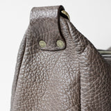OGL 9981 LEATHER HOBO-X BAG ELEPHANT GREY