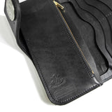 OGL SP PYTHON SKIN INLAY LONG LEATHER WALLET