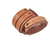 OGL ONLY GOOD LIFE NATURAL LEATHER CUFF