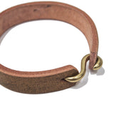 OGL ONLY GOOD LIFE S-HOOK HAND-DYED LEATHER BRACELET