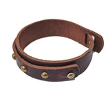 OGL ONLY GOOD LIFE STUDDED LEATHER CUFF