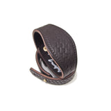 OGL ONLY GOOD LIFE MONOGRAM LEATHER CUFF