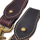 OGL ONLY GOOD LIFE PULL-UP LEATHER KEY FOB