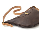 OGL 9981 HOBO LEATHER SACOCHE BROWN
