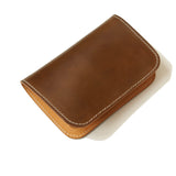 OGL BRAVE SHELL CORDOVAN MID LEATHER WALLET WALNUT