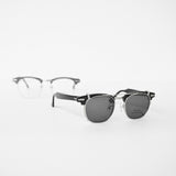 SHURON RONSIR CLIP-ON SHADE POLARIZED SILVER