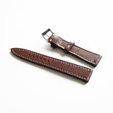 OGL WTC HANDSTITCH BUTTERO WATCH STRAP BROWN VTG 20-16MM