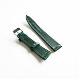 OGL WTC HANDSTITCH BUTTERO WATCH STRAP GREEN VTG 20-16MM