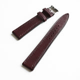 OGL WTC HANDSTITCH BUTTERO WATCH STRAP WINE (WINE STITCH) VTG 20-16MM