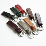OGL WTC HANDSTITCH BUTTERO WATCH STRAP BROWN