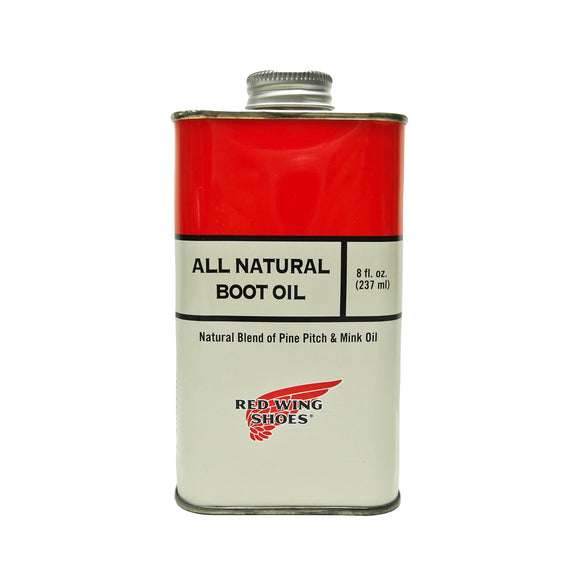 RED WING ALL NATURAL BOOT OIL – Rugged