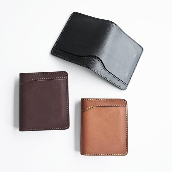 (PROTO) OGL CONDOR OUTER SHORT BIFOLD LEATHER WALLET