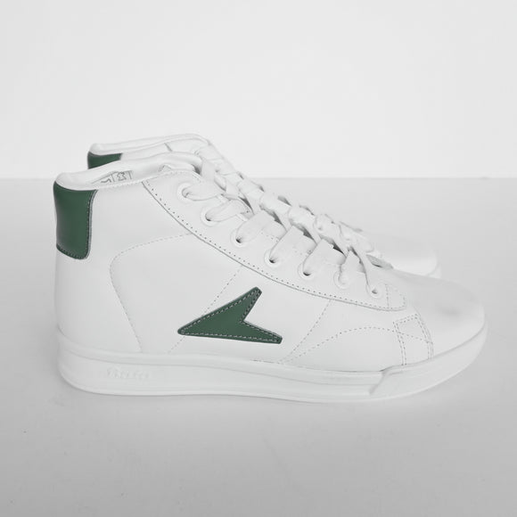 BATA HERITAGE JOHN WOODEN HI-TOP GREEN