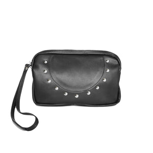 OGL SP CLUTCH LEATHER BAG BLACK