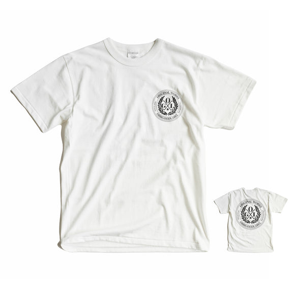 OGL APPAREL OBBI LOGO CLUB T-SHIRT CREAM (2020 LOT 1)