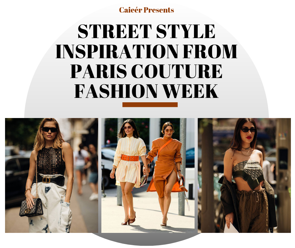 Street Style Inspiration from Paris Couture Fashion Week