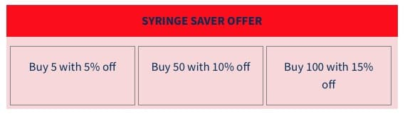 Bulk Savings options from Cavalor Direct