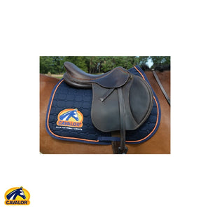 Jumping / Blue Cavalor Saddle Cloth - Cavalor Direct