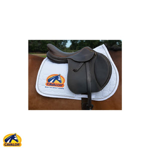 Jumping / White Cavalor Saddle Cloth - Cavalor Direct
