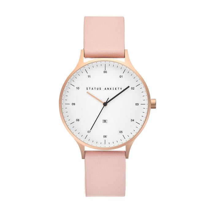 Inertia Watch - Rose Gold, White & Blush