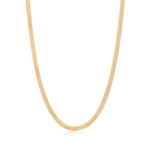 Axel Chain Necklace - Gold