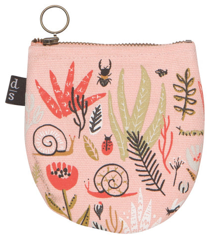 Half Moon Pouch - Small World