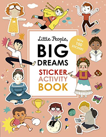 Little People, Big Dreams Sticker + Activity Book