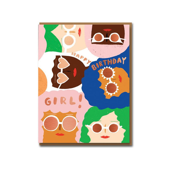 Sunny Women Birthday Card