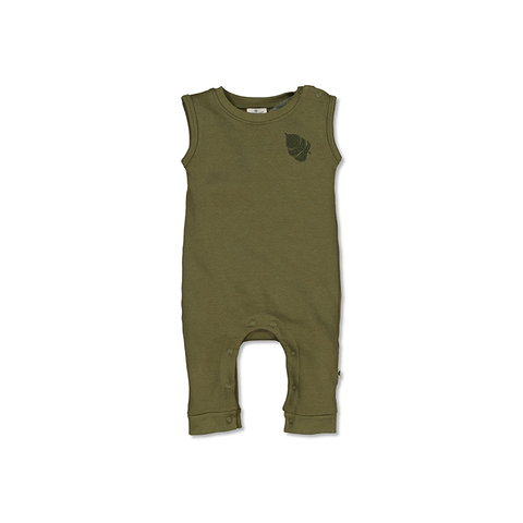 Tommy Romper (sleeveless) - Olive