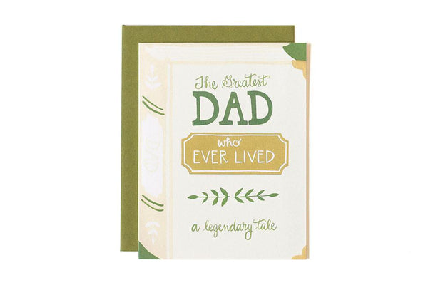 The Greatest Dad Ever Card