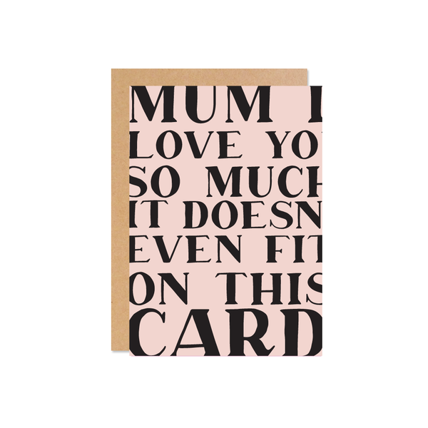 So Much Love Mother's Day Card