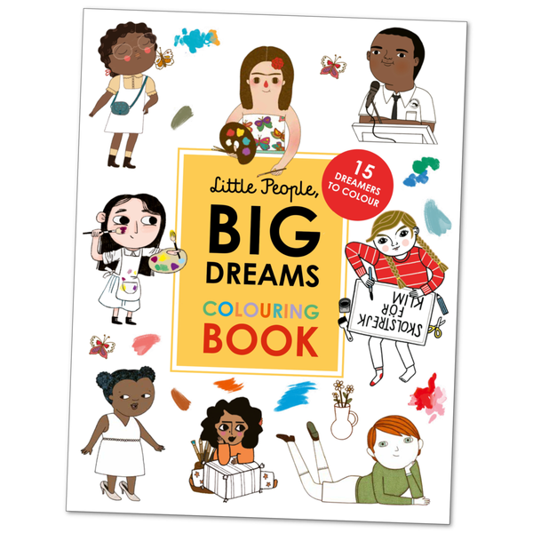 Little People, Big Dreams Colouring Book