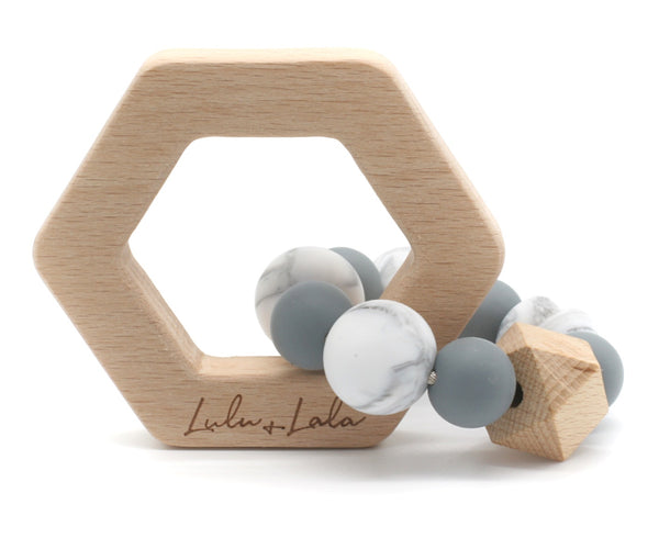 Lennox Teether - Grey