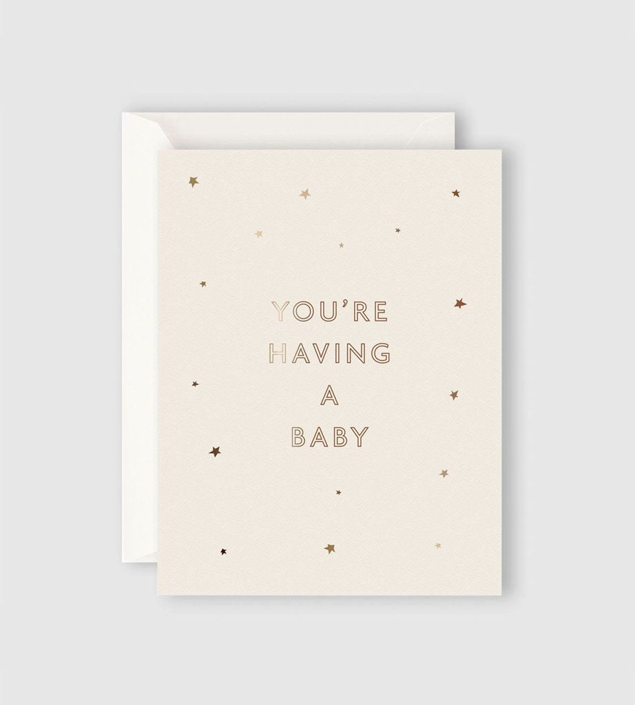 Starry You're Having a Baby Card