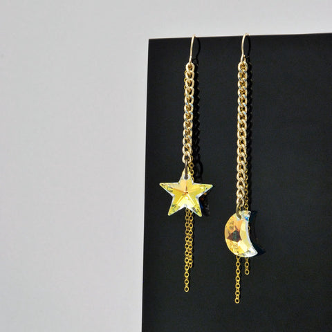 Light Galaxy Earrings