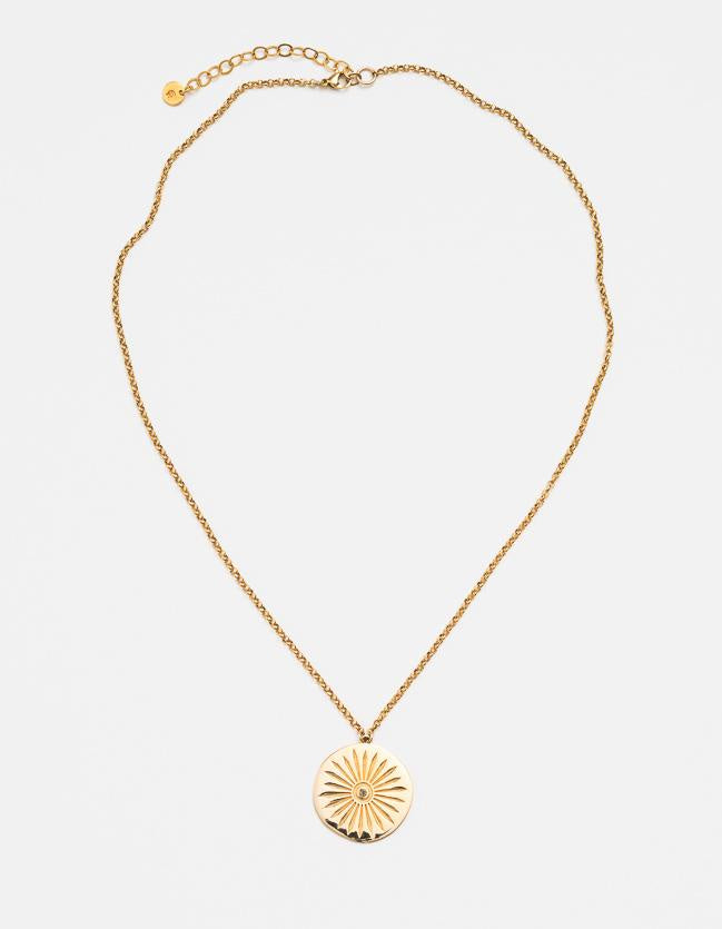 Ashoka Necklace - Gold and Diamond