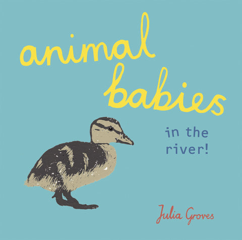 Animal Babies in the River