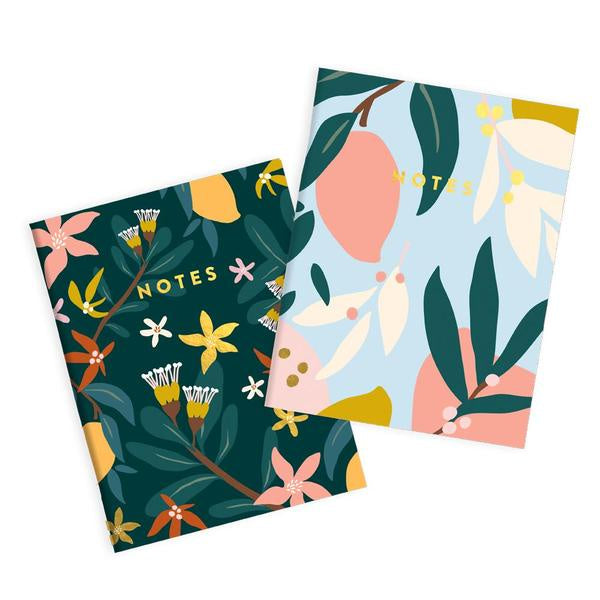 2 Pocket Notebooks - Mango