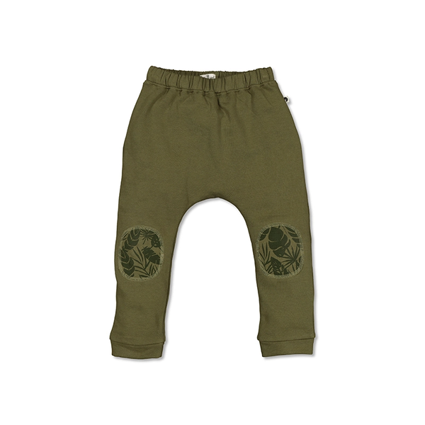 Drop Crotch Pants - Olive/Thicket