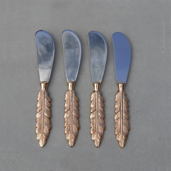 Feather Spreader - Rose Gold