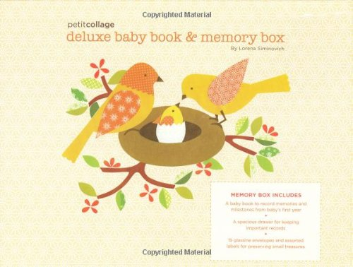 Deluxe Baby Book And Memory Box
