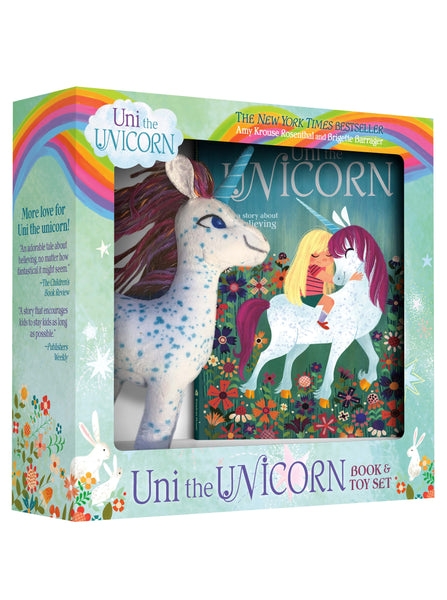 Uni the Unicorn Book & Soft Toy