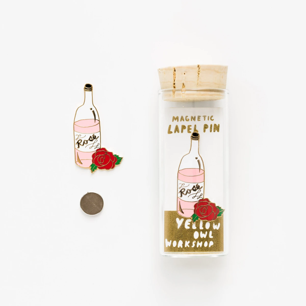 Rose/Wine Enamel Pin